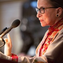 Ruth Bader Ginsburg(Allison Shelley/Getty Images)