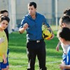 The Equalizer founder Liran Gerassi with players. Photo by Adi Peretz